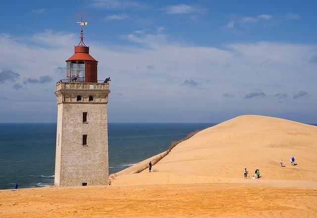 Закинутий маяк Руб'єрг Кнуд, Данія. (2)