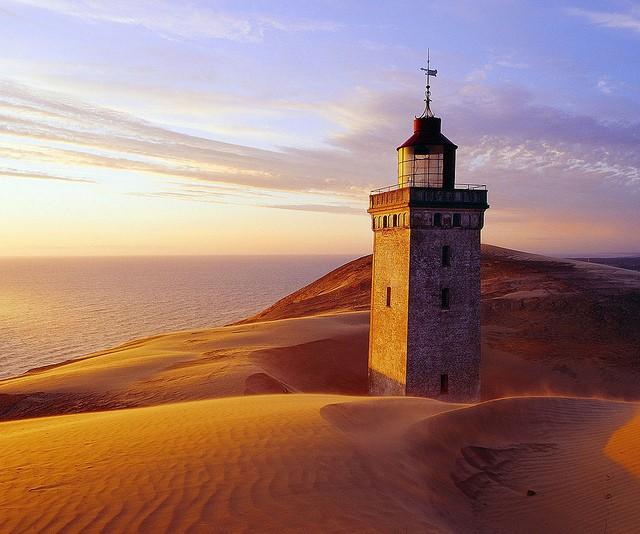 Закинутий маяк Руб'єрг Кнуд, Данія. (1)