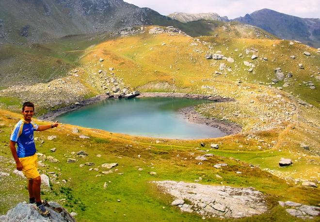 Гірське озеро в Косово.