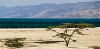 Озеро Рудольф. Найбільше у світі озеро посеред пустелі. (11)