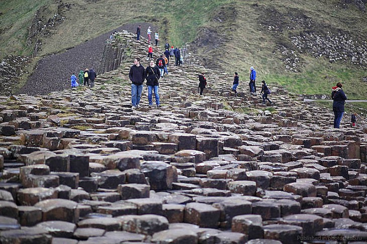 Стежка велетнів і гігантів в Ірландії (4)