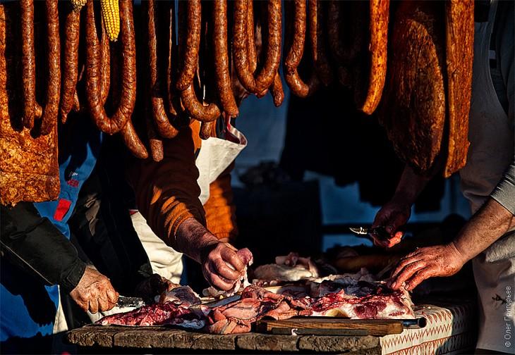 Смачний м'ясний фестиваль в Закарпатті (5)