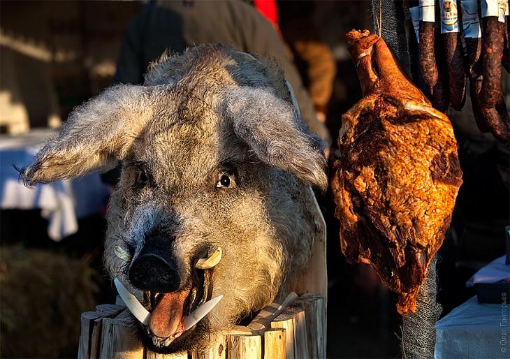 Смачний м'ясний фестиваль в Закарпатті (6)