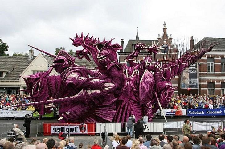 Грандіозний парад з квітів у Голландії (3)