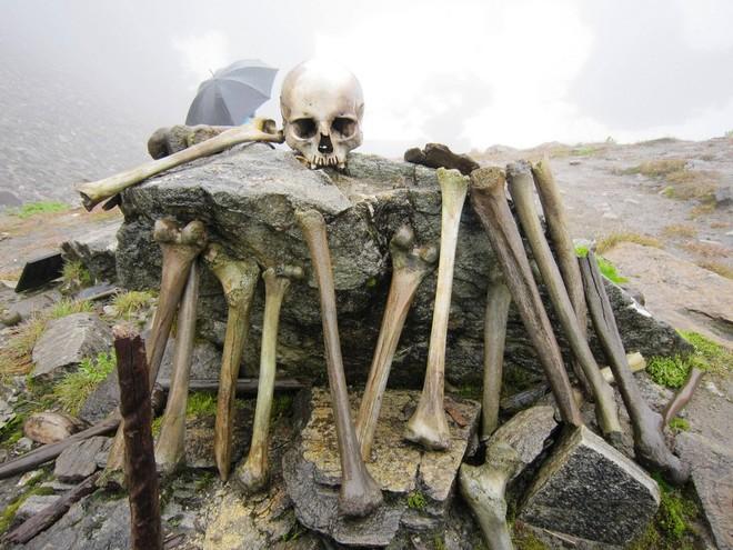 Озеро скелетів: шокуюча знахідка в індійських горах (8)