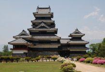 Неповторна архітектура середньовічного замку Мацумото, Япония (1)