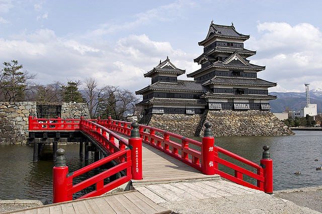 Неповторна архітектура середньовічного замку Мацумото, Япония (4)