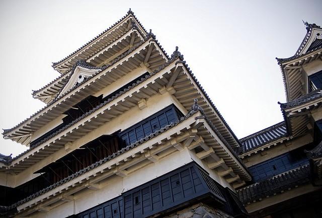 Неповторна архітектура середньовічного замку Мацумото, Япония (5)