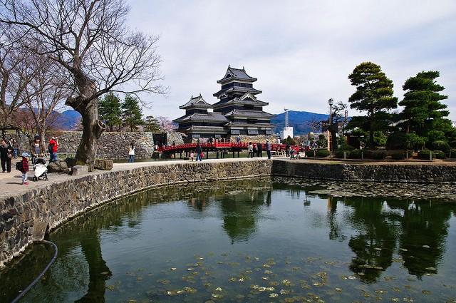 Неповторна архітектура середньовічного замку Мацумото, Япония (10)