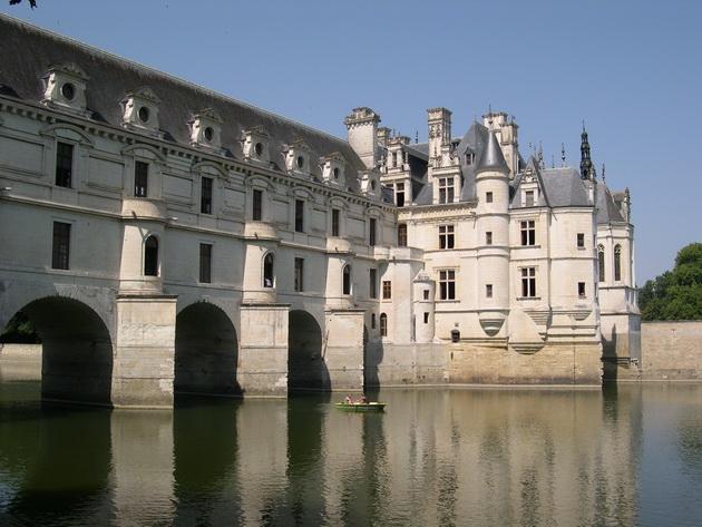 Вишуканий та елегантний, витончений і романтичний замок Шенонсо, або «дамський замок» (4)
