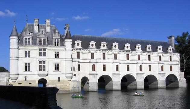 Вишуканий та елегантний, витончений і романтичний замок Шенонсо, або «дамський замок» (5)