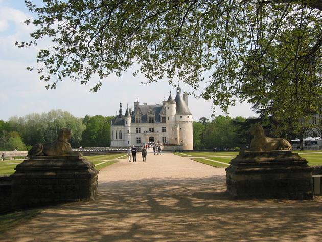 Вишуканий та елегантний, витончений і романтичний замок Шенонсо, або «дамський замок» (6)
