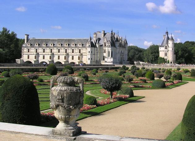 Вишуканий та елегантний, витончений і романтичний замок Шенонсо, або «дамський замок» (7)