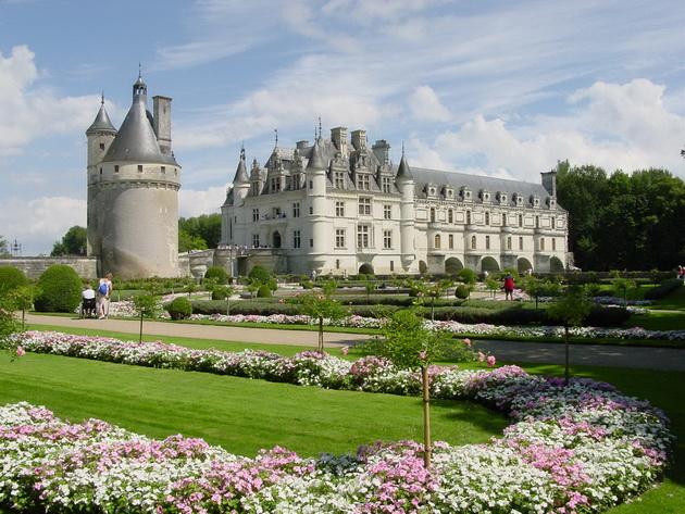 Вишуканий та елегантний, витончений і романтичний замок Шенонсо, або «дамський замок» (9)