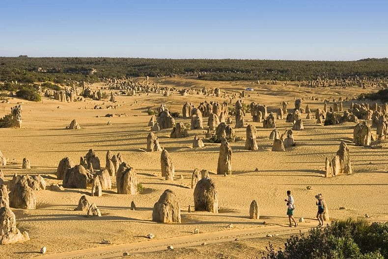 Пустеля Веж в Національному парку Намбунг, Австралія (1)