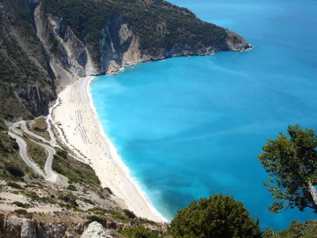 Дивовижний грецький пляж Міртос (1)