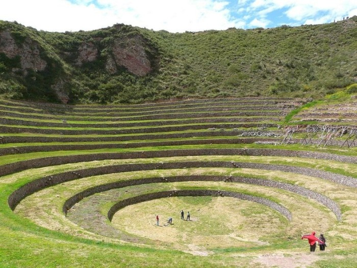 Сільськогосподарські тераси Морай. Загадкова культура інків (1)