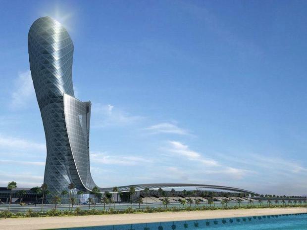 Ворота Столиці. Падаюча вежа Абу-Дабі (3)