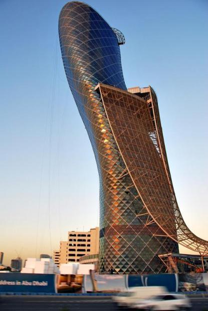Ворота Столиці. Падаюча вежа Абу-Дабі (4)