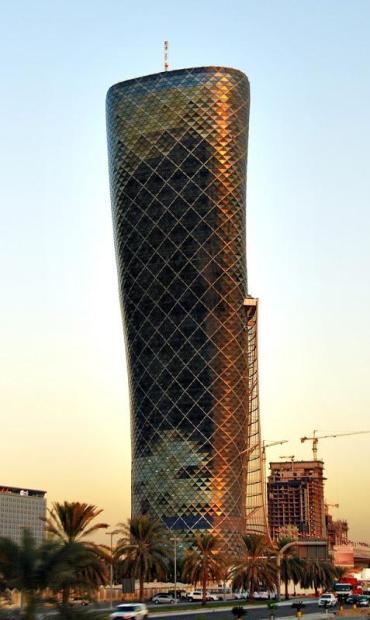 Ворота Столиці. Падаюча вежа Абу-Дабі (5)