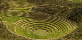 Сільськогосподарські тераси Морай. Загадкова культура інків (4)