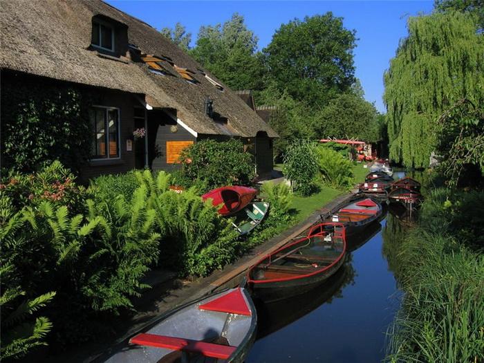 Гітхорн - нідерландське село з венеціанським шармом (1)