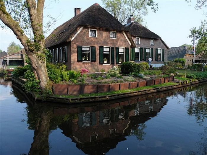 Гітхорн - нідерландське село з венеціанським шармом (2)