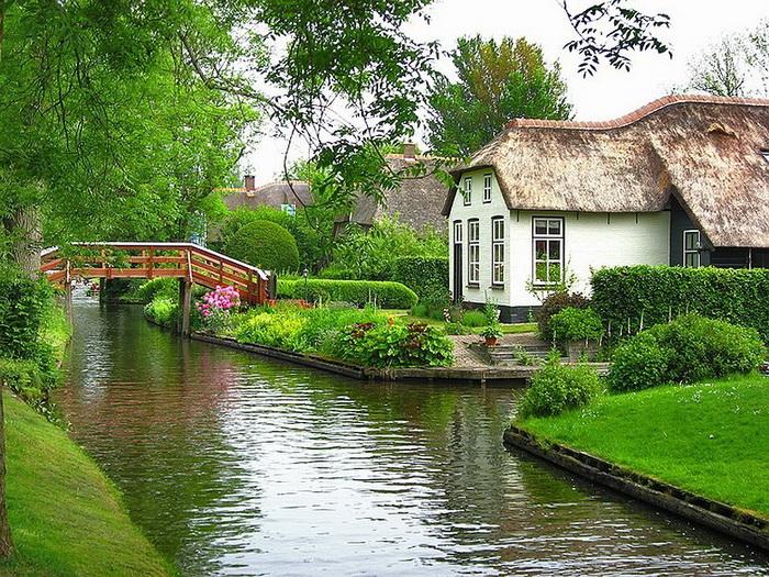 Гітхорн - нідерландське село з венеціанським шармом (3)