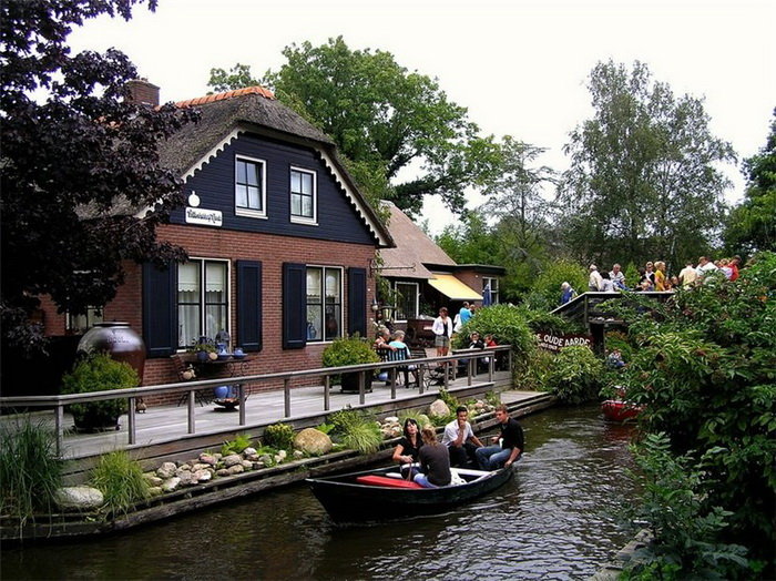 Гітхорн - нідерландське село з венеціанським шармом (4)