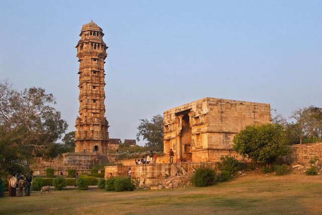 Індійський форт Чітторгарх (4)
