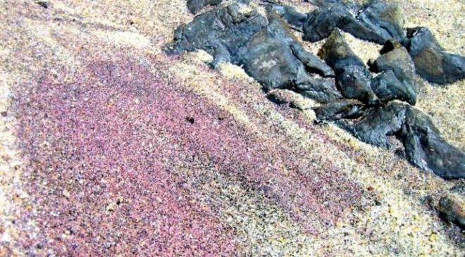 Фіолетовий пляж
