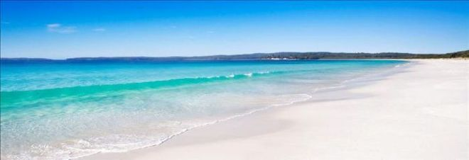 Hyams Beach - білосніжні піски