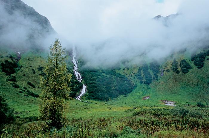 Кінзелюкскій водоспад