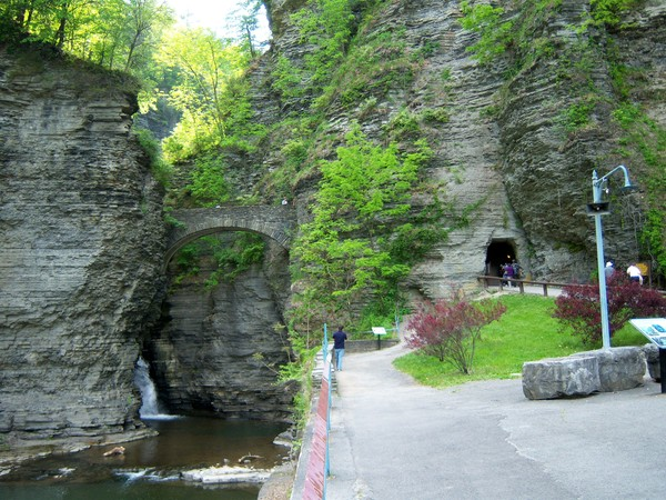 ущелина та водоспади, державний парк Уоткінс Глен (Watkins Glen State Park) (8)