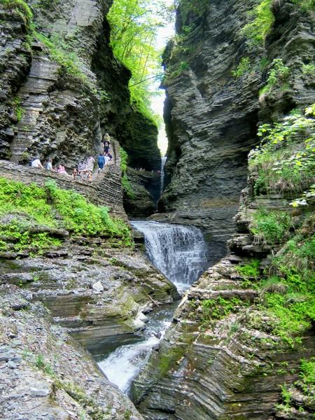 ущелина та водоспади, державний парк Уоткінс Глен (Watkins Glen State Park) (10)