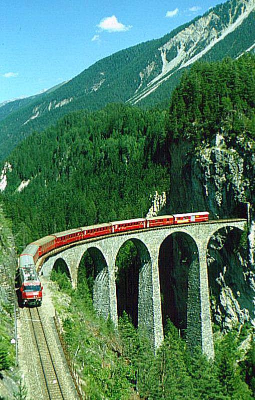 Віадук Ландвассер (Landwasser Viaduct) (Швейцарія)