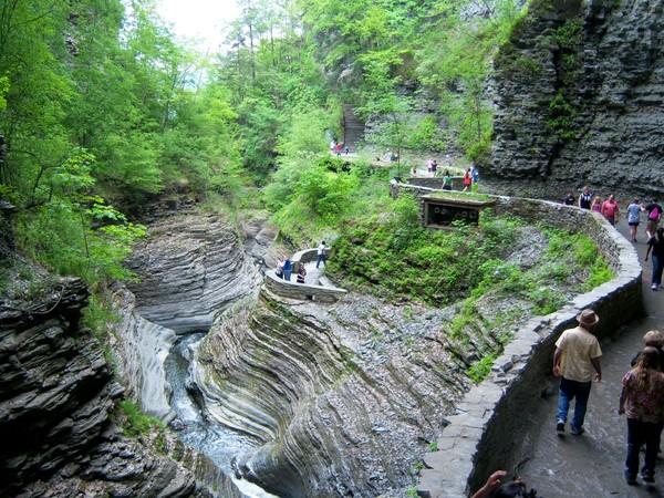 ущелина та водоспади, державний парк Уоткінс Глен (Watkins Glen State Park) (11)