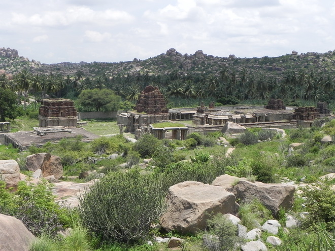 Руїни стародавнього міста Віджаянагара, Індія (8)
