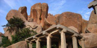 Руїни стародавнього міста Віджаянагара, Індія (1)