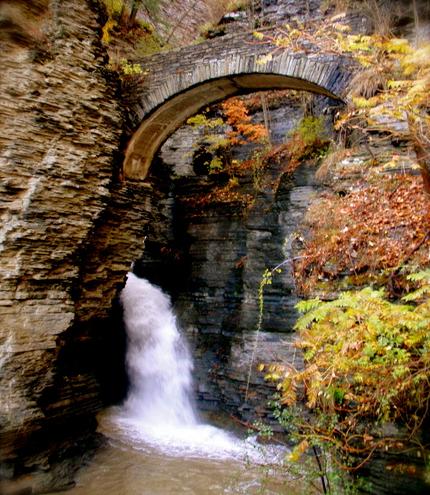 ущелина та водоспади, державний парк Уоткінс Глен (Watkins Glen State Park) (3)