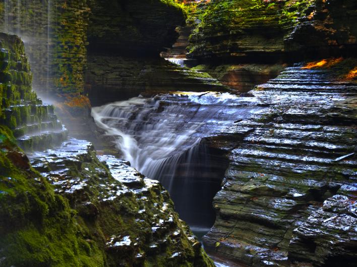 ущелина та водоспади, державний парк Уоткінс Глен (Watkins Glen State Park) (5)