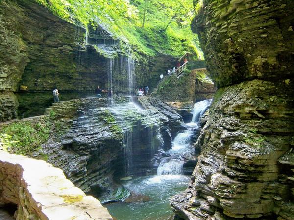 ущелина та водоспади, державний парк Уоткінс Глен (Watkins Glen State Park) (13)
