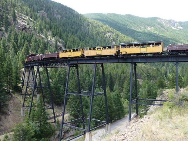 Кільцева залізниця Джорджтауна (Georgetown Loop Railroad)
