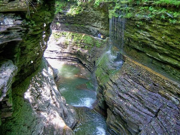 ущелина та водоспади, державний парк Уоткінс Глен (Watkins Glen State Park) (14)