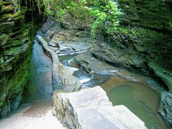ущелина та водоспади, державний парк Уоткінс Глен (Watkins Glen State Park) (15)