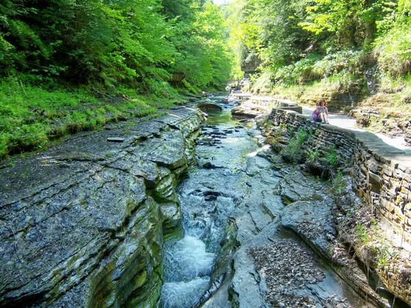 ущелина та водоспади, державний парк Уоткінс Глен (Watkins Glen State Park) (17)