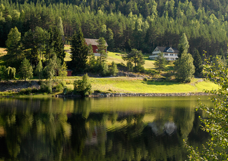 Одне з найкрасивіших озер світу, озеро Хорніндальсватнет (11)