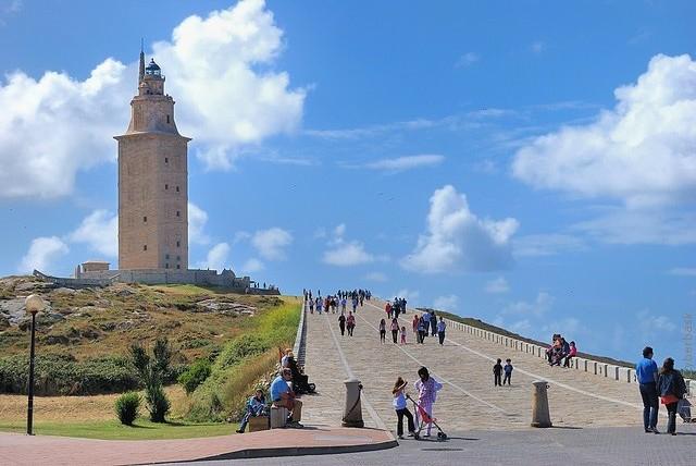 Маяк Вежа Геркулеса, Іспанія (4)