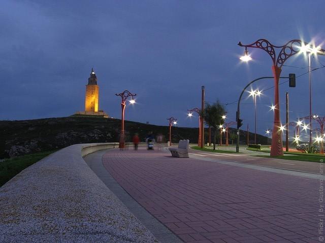 Маяк Вежа Геркулеса, Іспанія (5)