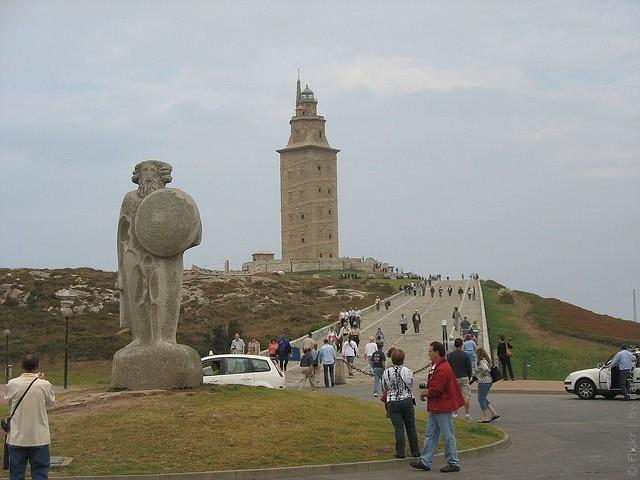 Маяк Вежа Геркулеса, Іспанія (7)